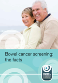 Bowel cancer screening leaflet front cover